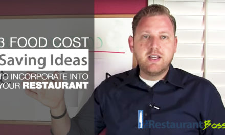 3 Food Cost Saving Ideas you can incorporate INSTANTLY into your Restaurant