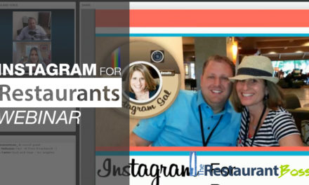 Instagram for Restaurants Webinar