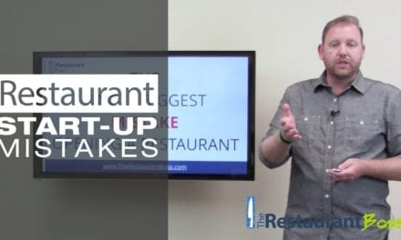 Restaurant Start Up Mistakes