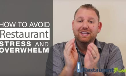 How to Avoid The Stress and Overwhelm of Owning a Restaurant