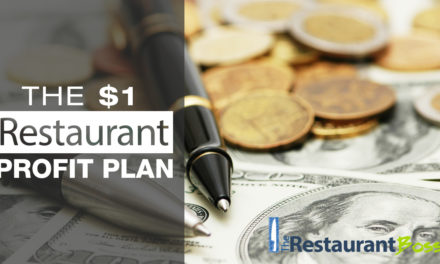What can $1 do for Increasing Your Restaurant Profit, Revenue and Sales