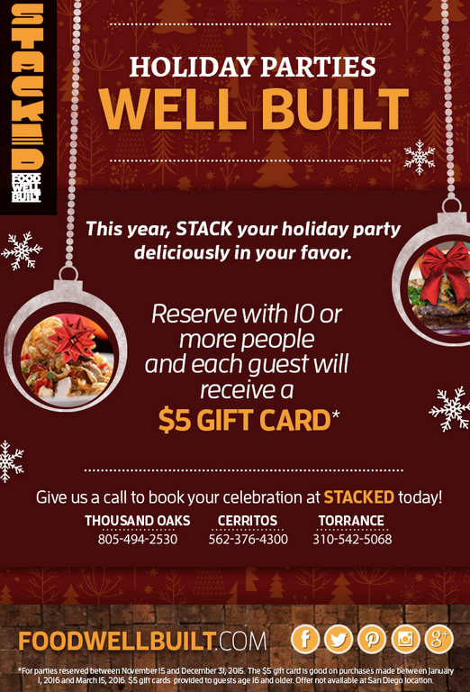 Partner with your Restaurant Guests this Holiday Season