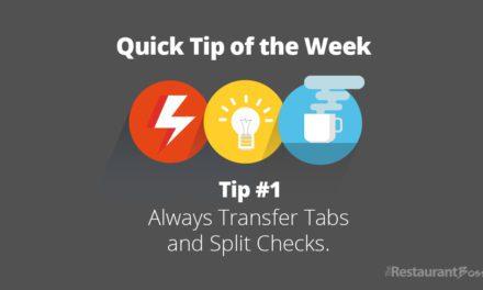 Quick Tip #1