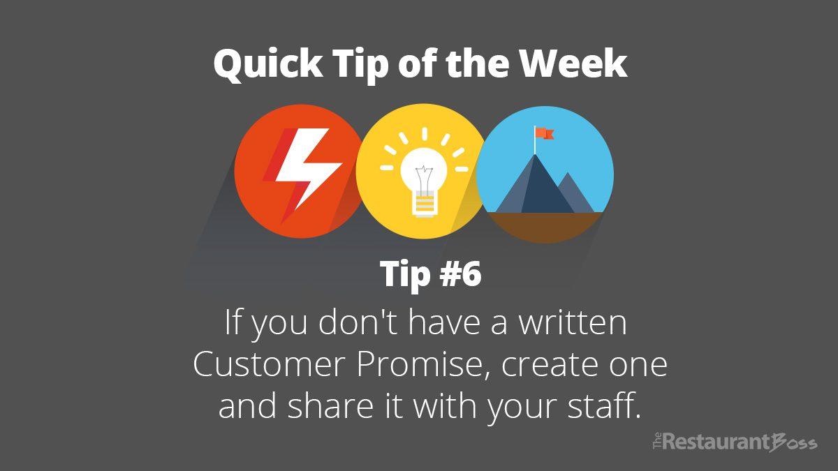 Quick Tip #6