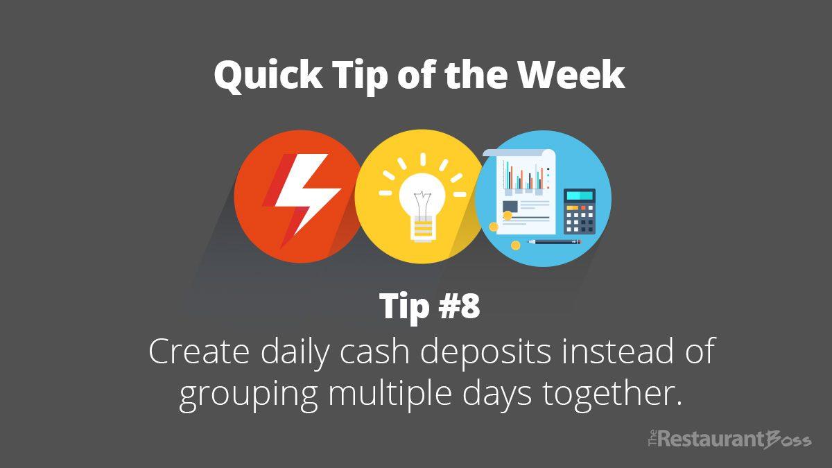 Quick Tip #8