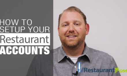How to Setup Your Restaurant Accounts