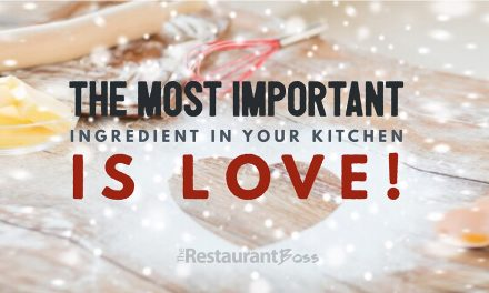 """The most important ingredient in your kitchen is LOVE!"""