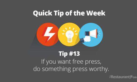 Quick Tip #13