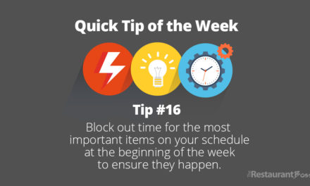 Quick Tip #16