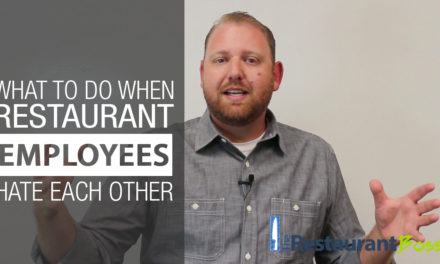 What To Do When Restaurant Employees Hate Each Other