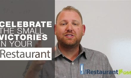 Celebrate the Small Victories in your Restaurant Business