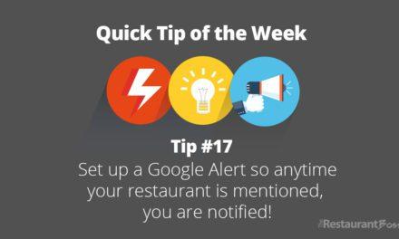 Quick Tip #17