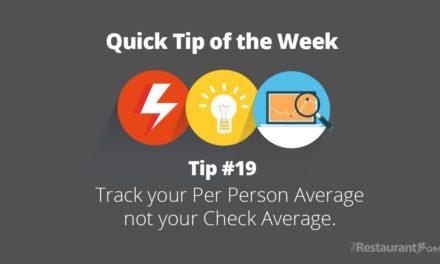 Quick Tip #19