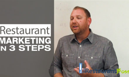 Restaurant Marketing in 3 Steps