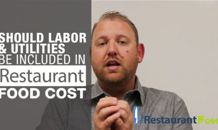 Should Labor & Utilities be Included in Restaurant Food Cost