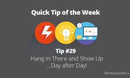 Quick Tip #29