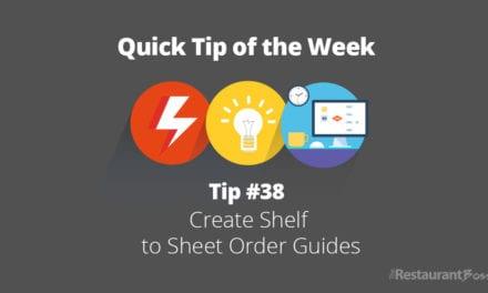 Quick Tip #38