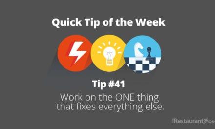 Quick Tip #41