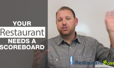 Your Restaurant Needs a Scoreboard