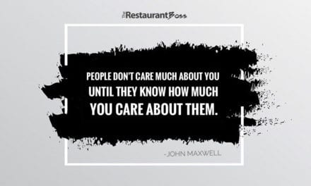 """People don't care much about you until they know how much you care about them."" John Maxwell"