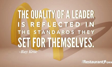 """The quality of a leader is reflected in the standards they set for themselves."" – Ray Kroc"
