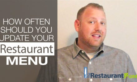 How Often Should you Update your Restaurant Menu