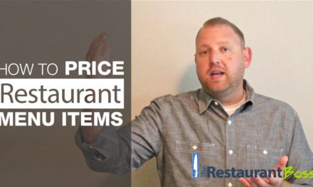 How to Set Prices on your Restaurant Menu
