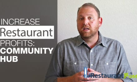 Increase Restaurant Profits: Community Hub