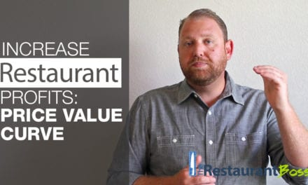 Increase Restaurant Profits: Price Value Curve