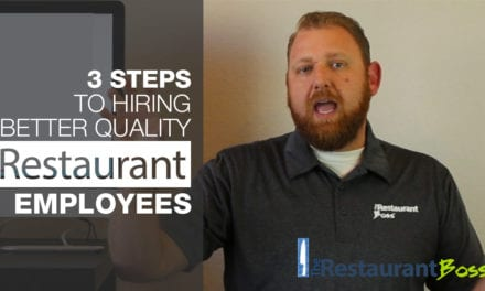 3 Steps to Hiring Better Quality Restaurant Employees