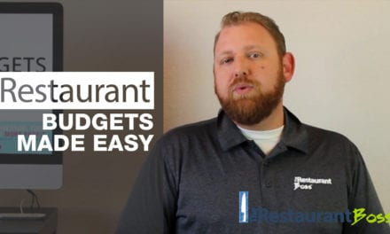 Restaurant Budgets Made Easy
