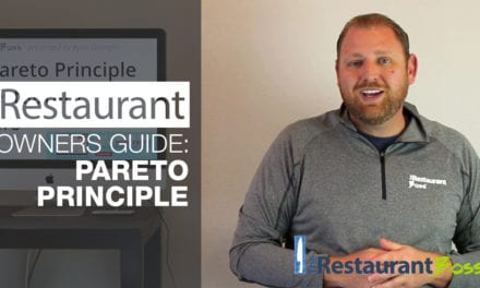 The Restaurant Owners Guide to the Pareto Principle