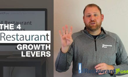 The 4 Restaurant Growth Levers