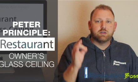 Peter Principle: Restaurant Owner's Glass Ceiling