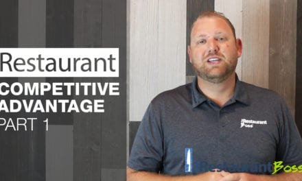 Restaurant Competitive Advantage Part 1