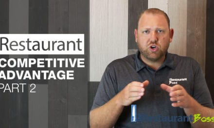 Restaurant Competitive Advantage Part 2