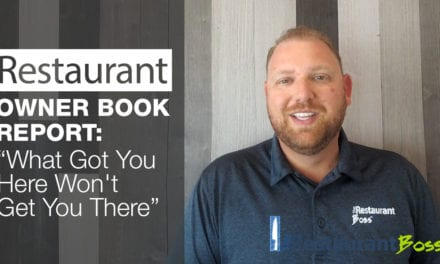 Restaurant Owner Book Report – What Got you Here Won't Get you There