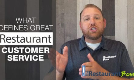 What Defines Great Restaurant Customer Service