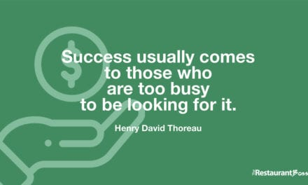 """Success usually comes to those who are too busy to be looking for it."" – Henry David Thoreau"