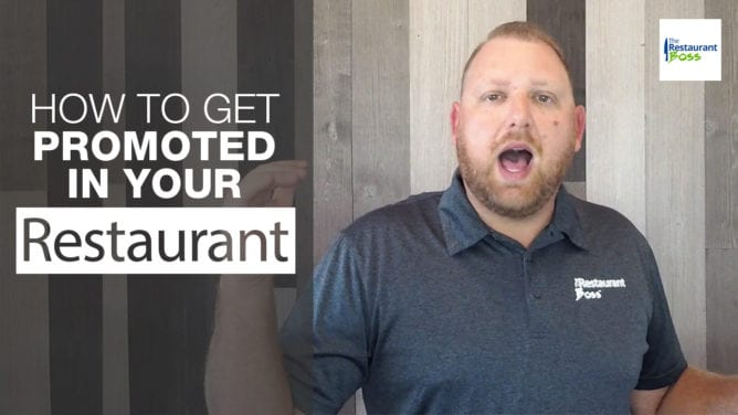 How to Get Promoted in your Restaurant