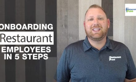 Onboarding Restaurant Employees In 5 Steps