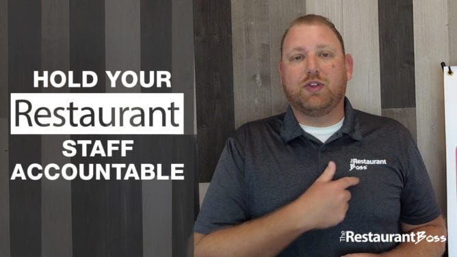 Hold your Restaurant Staff Accountable