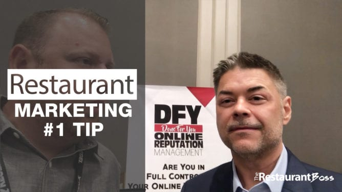 Restaurant Marketing Number One Tip