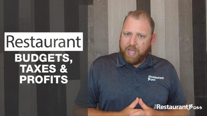 Restaurant Budgets, Taxes & Profits