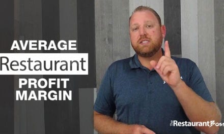 Average Restaurant Profit Margin