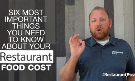 Six Most Important Things You Need to Know About Your Restaurant Food Cost