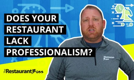 Does Your Restaurant Suffer From a Lack of Professionalism?
