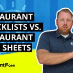 What is the Difference Between a Restaurant Checklist and a Prep Sheet?