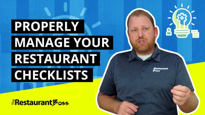 How to Properly Manage Your Restaurant Checklists