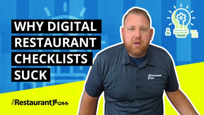 Why Digital Restaurant Checklists Suck